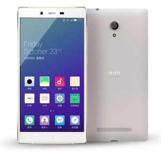 """Smartphone 5.2"""" Iuni i1Snapdragon 801 - 2 Go de RAM, 32 Go, blanc ou rose"""