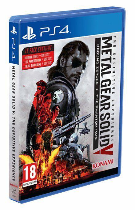 [Précommande] Jeu Métal Gear Solid V : The Définitive Expérience sur PS4 et Xbox One