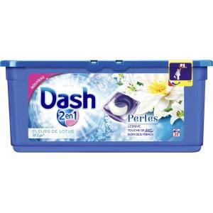 Sélection d'optimisations - Ex : Lessive écodose Dash 2-en-1 - 30 lavages (via BDR de 1.5€)