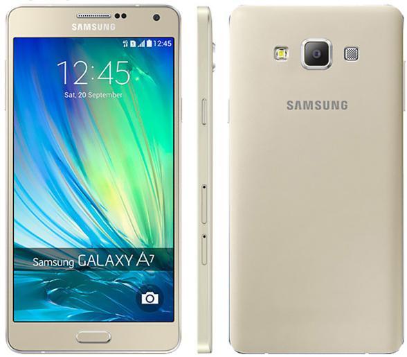 "Smartphone 5.5"" Samsung Galaxy A7 (2015) - 16Go"