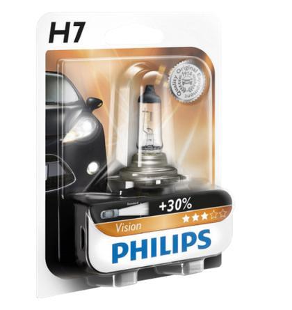 Ampoule de Phare Philips H7 - 12V, 55W