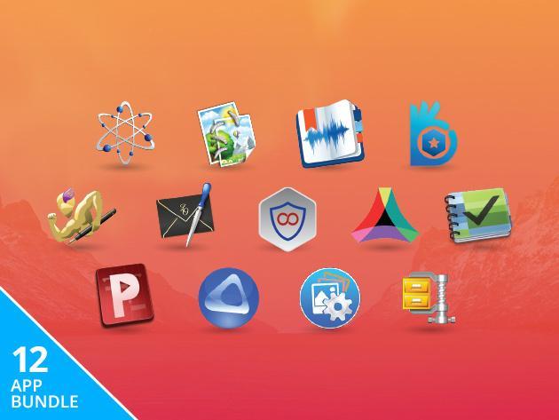 Lot de 13 Logiciels pour Mac (Nisus Writer Pro, Drive Genius 4, DeltaWalker 2 Pro ...)