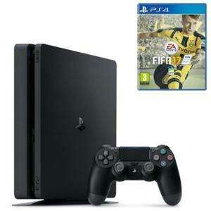 Pack console Sony PlayStation 4 Slim (1 To) + FIFA 17