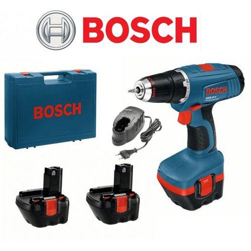 Perceuse Visseuse Bosch Gsr12-2, 12 V - 3 Batteries Ni Cd 1.5 Ah Mandrin 10 mm
