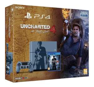 Pack console Sony PS4 (1 To, Édition Limitée) + Uncharted 4: A Thief's End