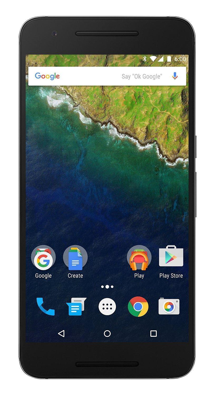 """Smartphone 5.7"""" Huawei Nexus 6P - 32 Go, Acier"""