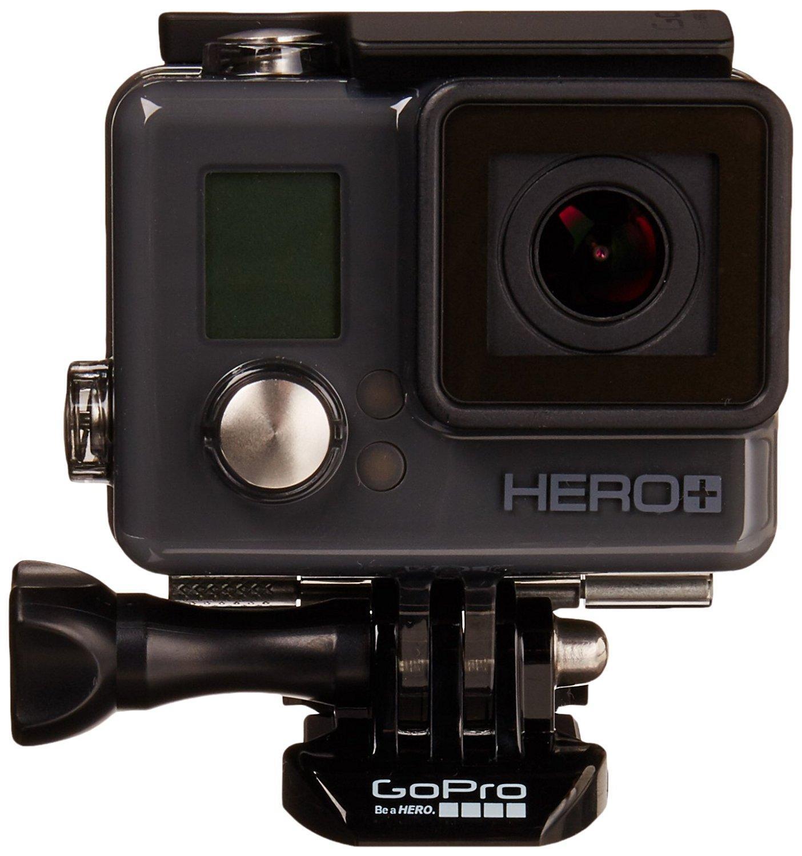 Caméra sportive GoPro HERO+ LCD - 8 Mpix, Wi-Fi, noir