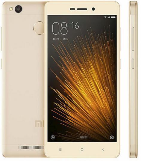 "Smartphone 5.0"" Xiaomi Redmi 3X - Snapdragon 430, RAM 2 Go, ROM 32 Go, 4100Mah (Gold ou Silver)"