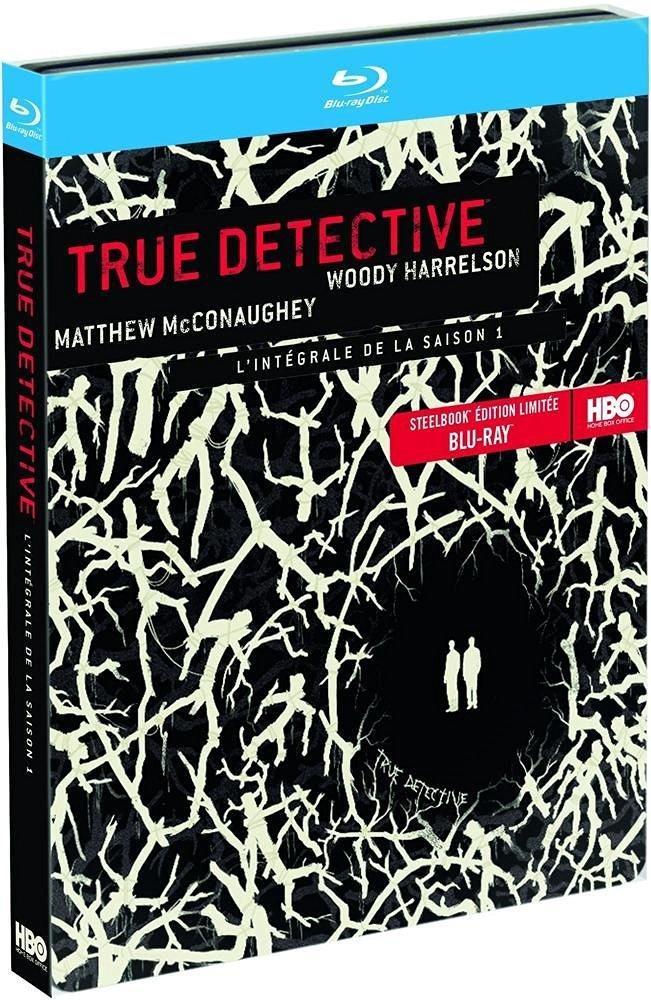 Sélection de Blu-ray en promotion - Ex: Blu-ray True Detective Saison 1 Edition Steelbook