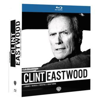 50% de remise sur une sélection de Coffrets Blu-ray / DVD - Ex : Coffret 4 Films Clint Eastwood