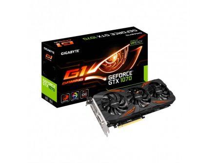 Carte Graphique Gigabyte GeForce GTX 1070 G1 Gaming 8 Go