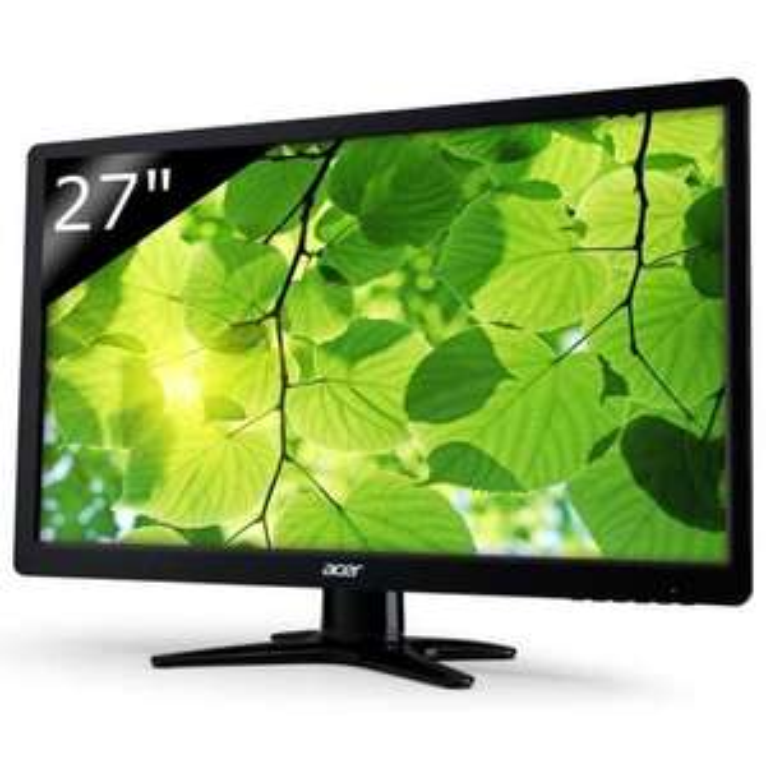 "Écran PC 27"" Acer G276HLAbid - Full HD, 2ms, Pied Pivotable, DVI/HDMI"