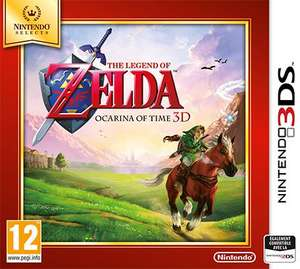The Legend of Zelda : Ocarina of Time Selects (Nintendo 3DS)