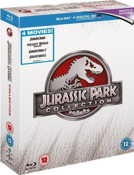 Coffret Blu-Ray Jurassic Park Collection (1 à 4)
