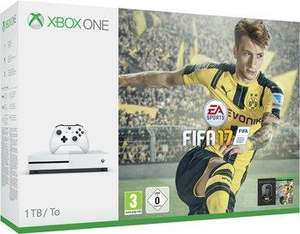 Pack console Xbox One S (1 To) + FIFA 17
