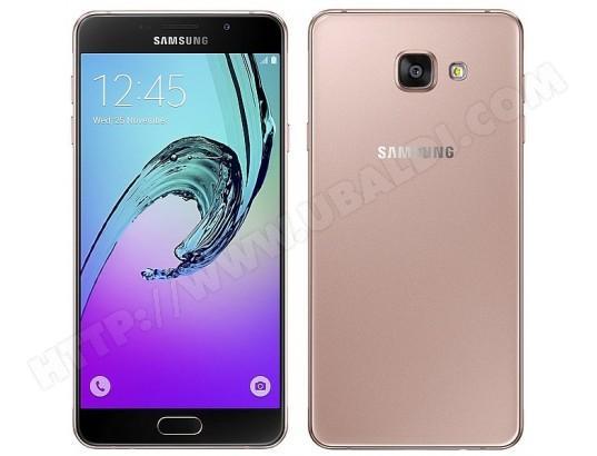 "Smartphone 4.7"" Samsung Galaxy A3 2016 - Rose, 16Go"