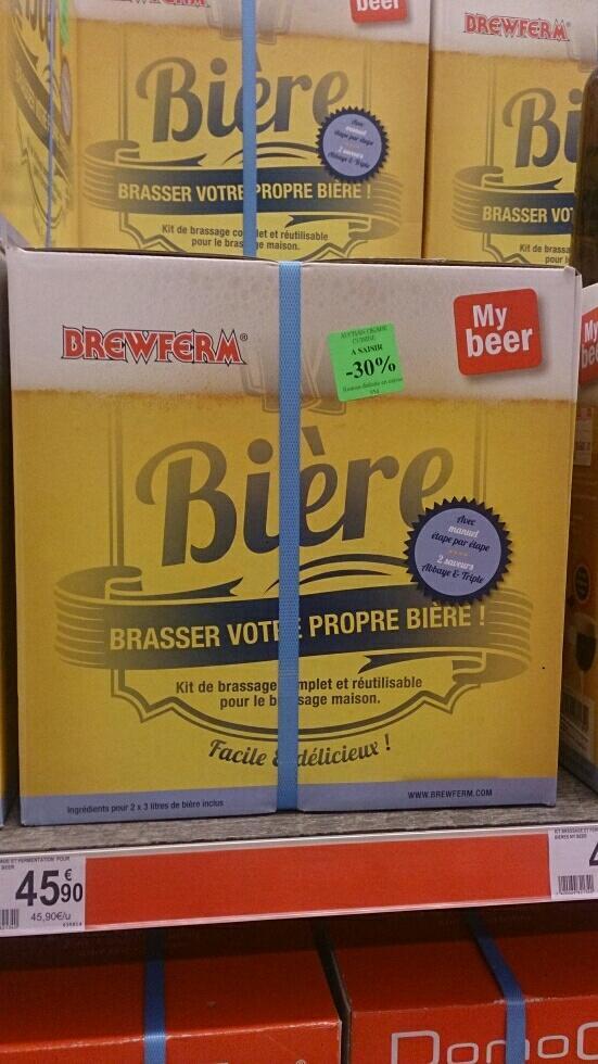 Kit réutilisable de Brassage et Fermentation pour Bières