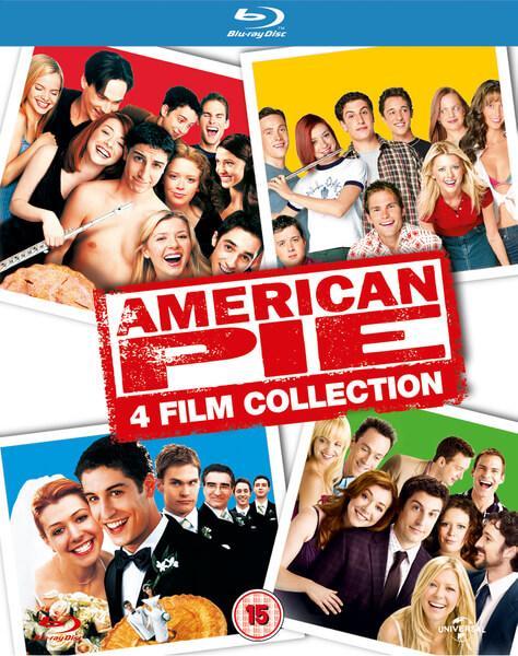 Coffret Blu-ray American Pie - 4 Films (pas de VF sur le 1)