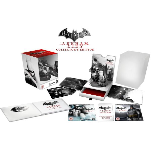 Batman Arkham City Edition Collector sur Xbox 360 et PS3