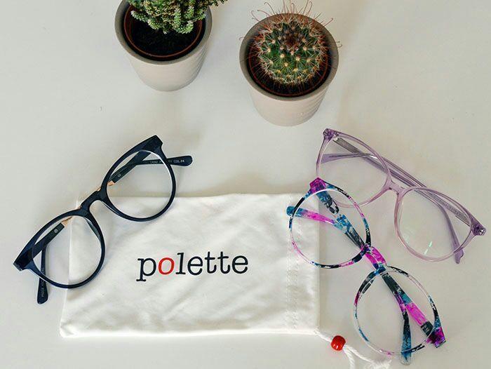 50% de réduction sur les verres et montures valable sur le site Polette