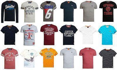 Sélection d'articles Superdry en promotion - Ex : T-shirts hommes (Plusieurs modèles)