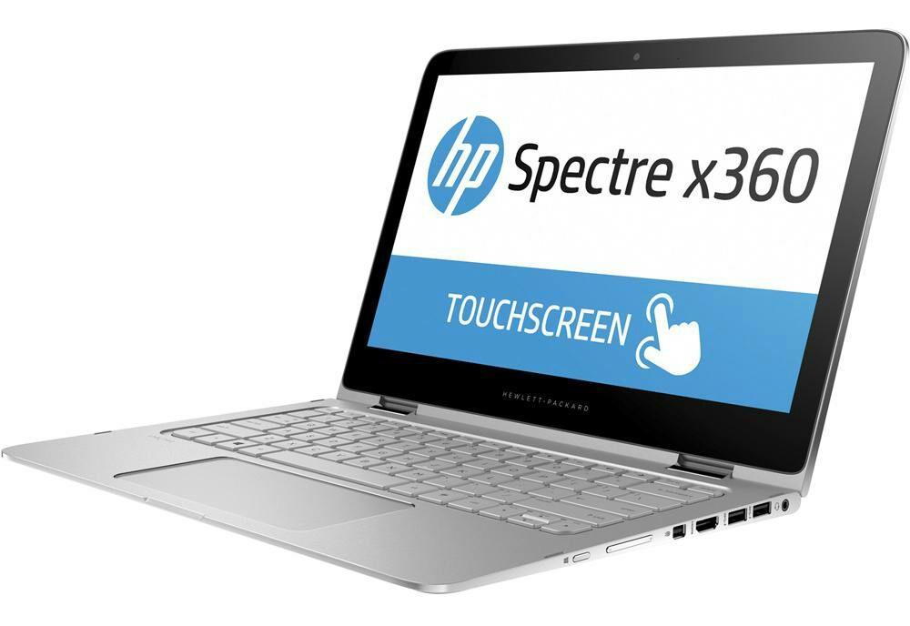 "PC Portable Hybride 13.3"" HP Spectre X360 13-4101NF Argent - Tactile, i5-6200U, SSD 256 Go, RAM 4 Go"