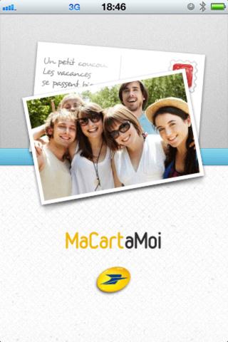 Une carte postale personnalisée gratuite (au lieu de 2.49€)
