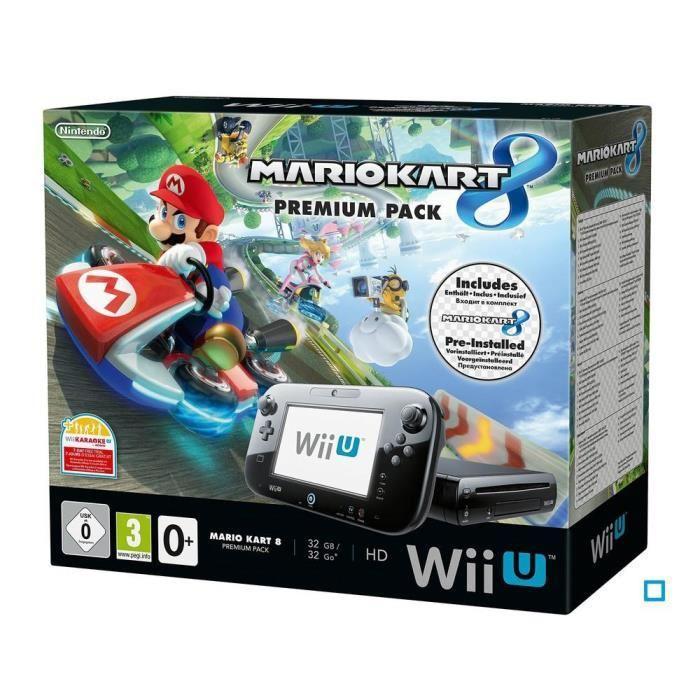 Sélection de consoles et de jeux vidéo en promotion - Ex : Premium Pack Nintendo Wii U Mario Kart 8 (32 Go)