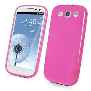 Muvit Coque Minigel Rose Galaxy SIII