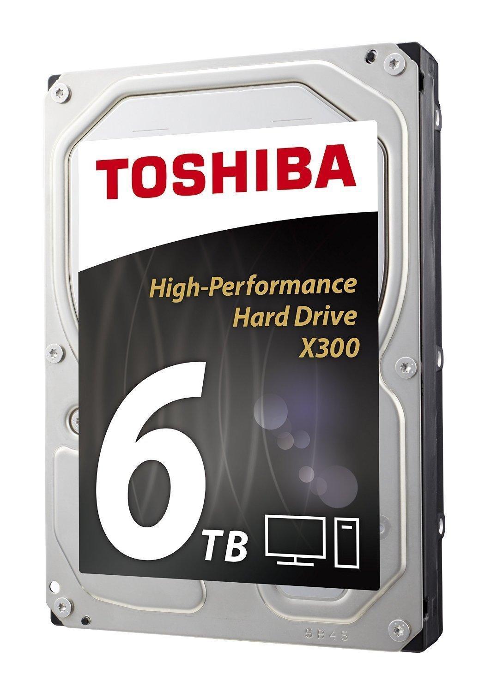 "Disque dur Interne 3.5"" Toshiba X300 (7200 Tr/min) - 6 To"
