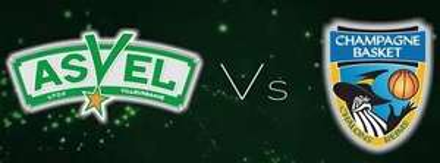 Match de basketball ASVEL / Châlons Reims - vendredi 14 octobre