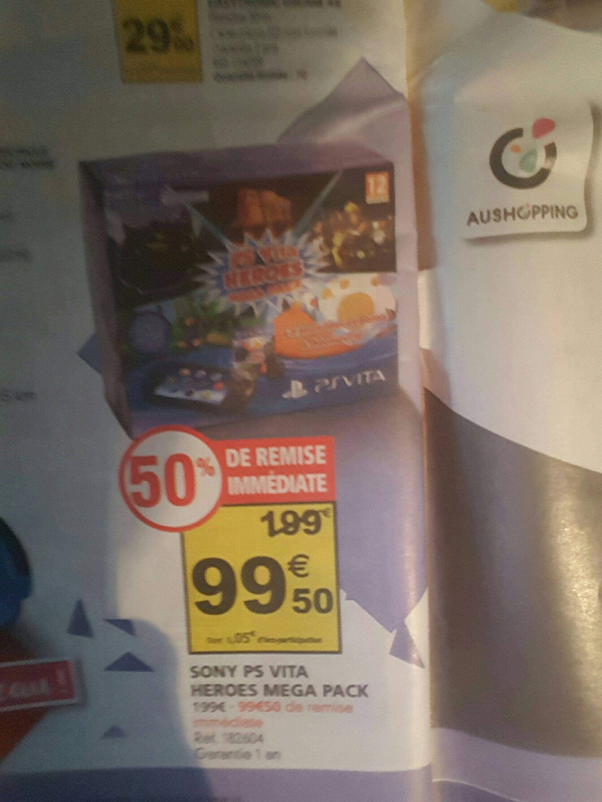 Selections de consoles portables en promotion - Ex : Console Sony PS Vita Heroes Mega Pack