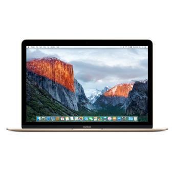 "PC Portable 12"" Apple MacBook - Intel 1.1GHz, 8 Go de Ram, 256 Go SSD, Or, QWERTY"