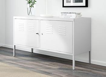 [Ikea Family] Sélection d'articles en promotion - Ex : armoire métallique PS (119x40x63 cm, blanc ou rouge)