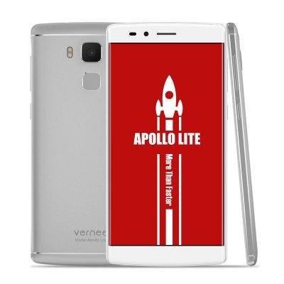 """Smartphone 5.5"""" Vernee Apollo Lite 4G - Android 6.0, MTK6797, 4Go de Ram, 32Go, 16.0MP, Argent ou noir"""