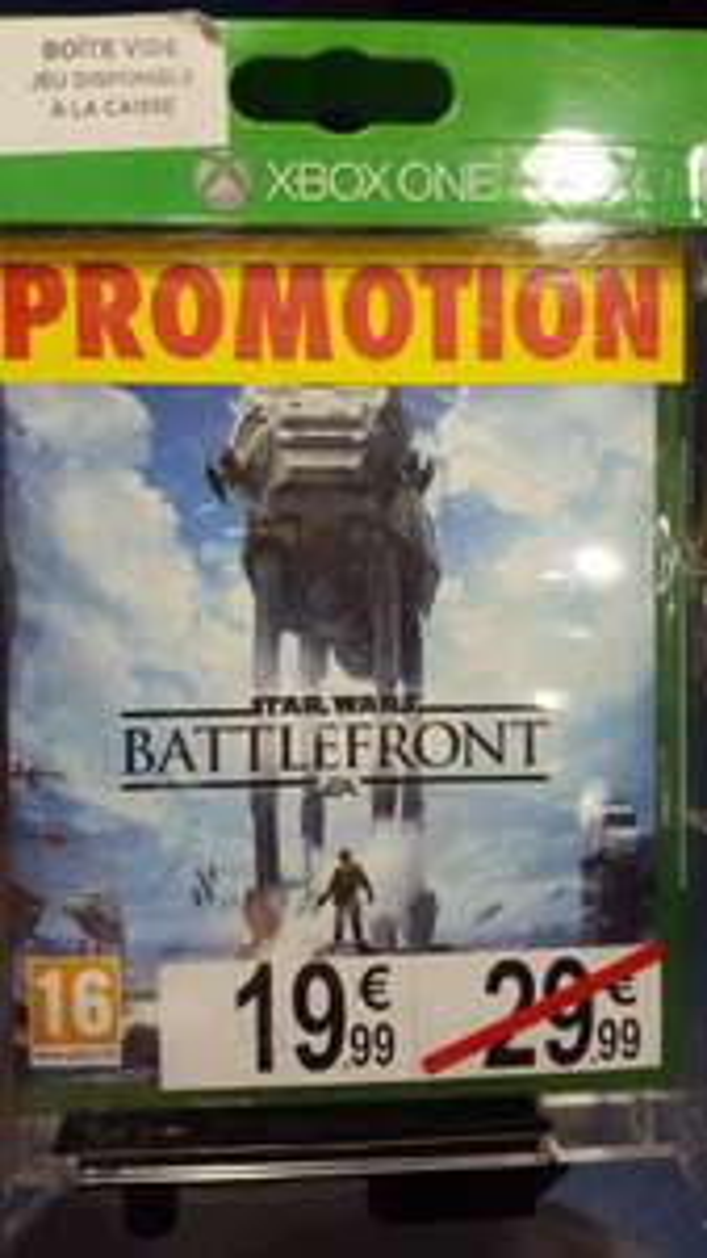 Star Wars Battlefront sur Xbox One et PS4