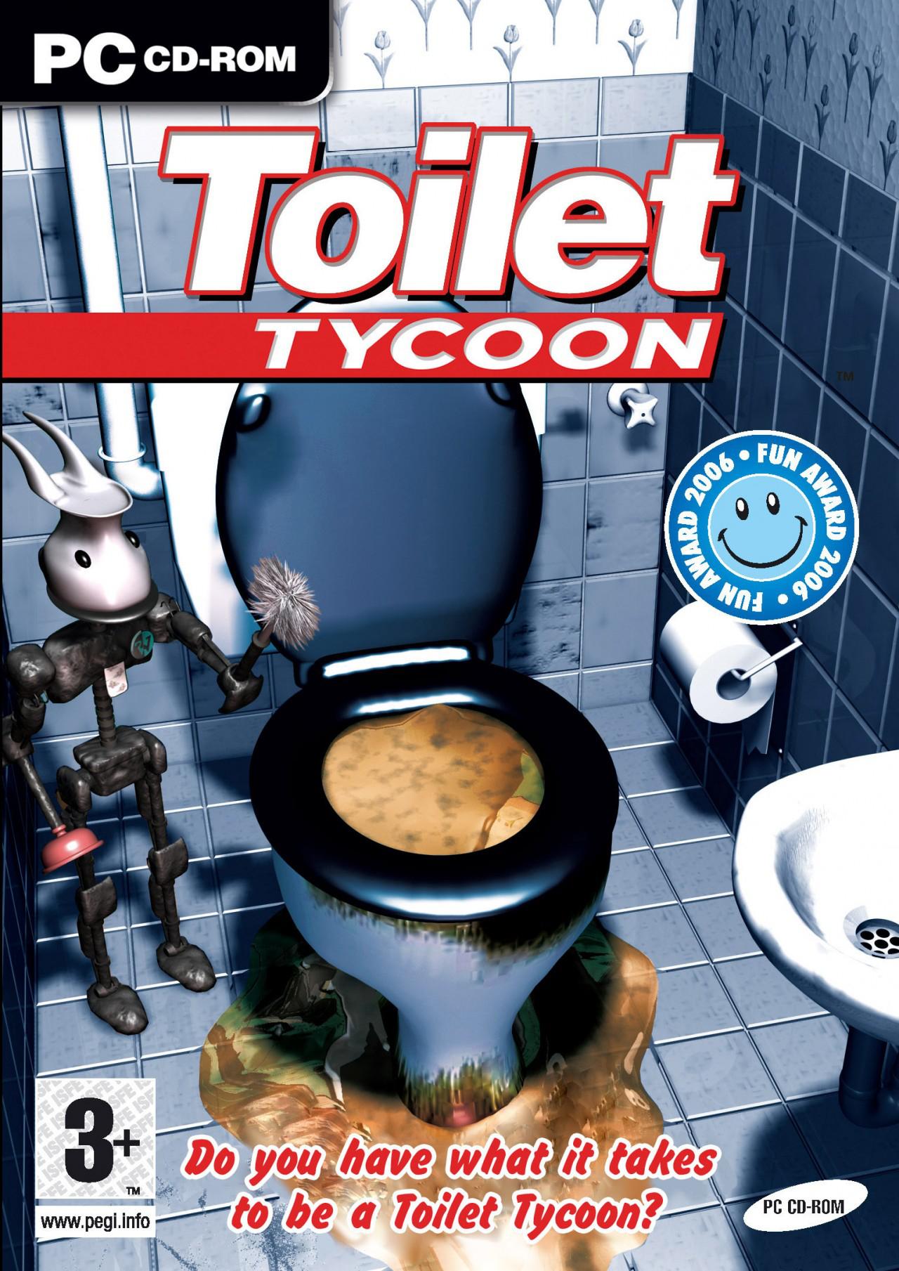 Simulateur de gestion de chiottes sur PC : Toilet Tycoon