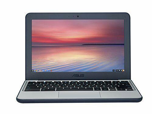 """PC portable Asus C202SA-GJ0026 Chromebook 11.6"""" Bleu (Intel Celeron, 2 Go de RAM, SSD 16 Go, Chrome OS, Garantie 2 ans)"""