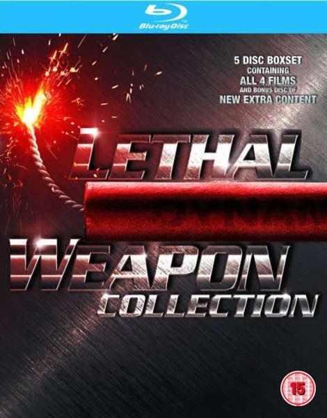 Coffret Blu-ray L'Arme Fatale (1 à 4)