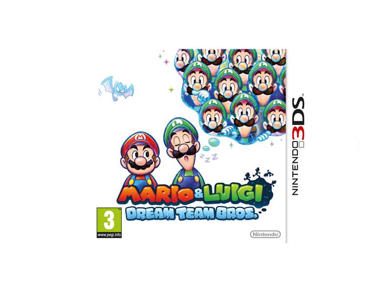 Mario & Luigi Dream Team Bros (via buyster)
