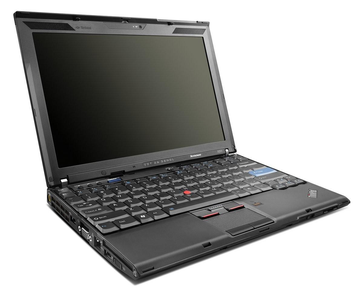 PC Portable 12.1'' Lenovo ThinkPad X201 Reconditionné - I5-M520 2,4Ghz, RAM 4Go, SSD 160 Go, Windows 7