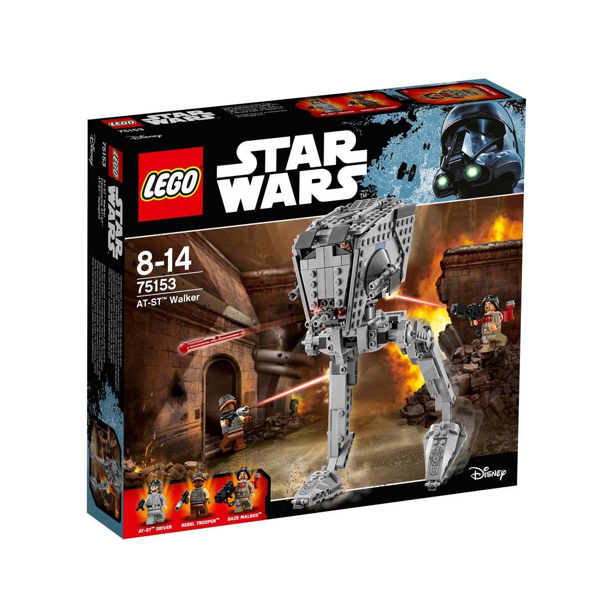 Jeu Lego Star Wars - Vaisseau AT-ST 75153