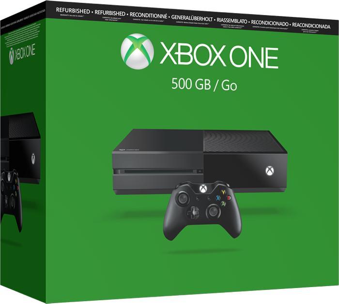 Console Microsoft Xbox One 500Go - Reconditionné et garantie 2 ans