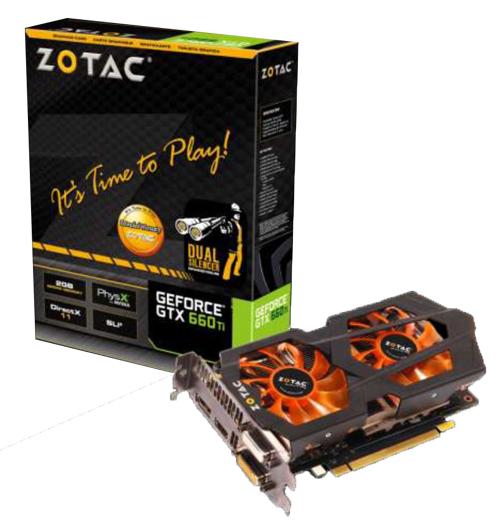 GTX 660 TI Zotac + Splinter Cell Blacklist / via Buyster