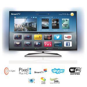 """Avec ODR de 100€ : TV 50"""" PHILIPS 50PFL5008H LED 3D Ambilight à 807.99€ ou en 47"""" PHILIPS 47PFL5008H"""