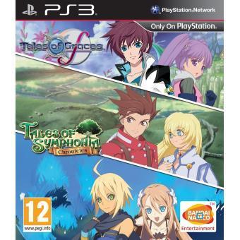 Tales of Grace + Tales Of Symphonia sur PS3 (3 jeux)