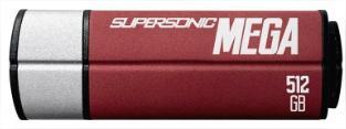 Clé USB 3.0 Patriot Supersonic Mega - 512 Go (Jusqu'à 330 Mo/s)