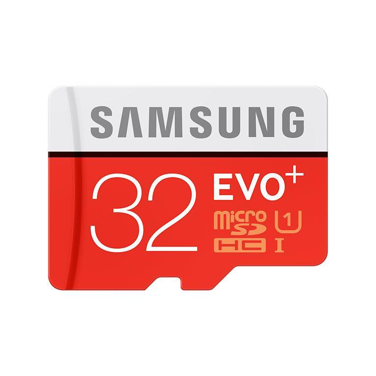 Carte microSD Samsung Evo Plus 32 Go avec adaptateur