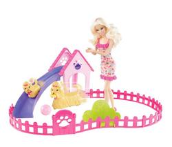 Mattel Barbie élève ses chiots
