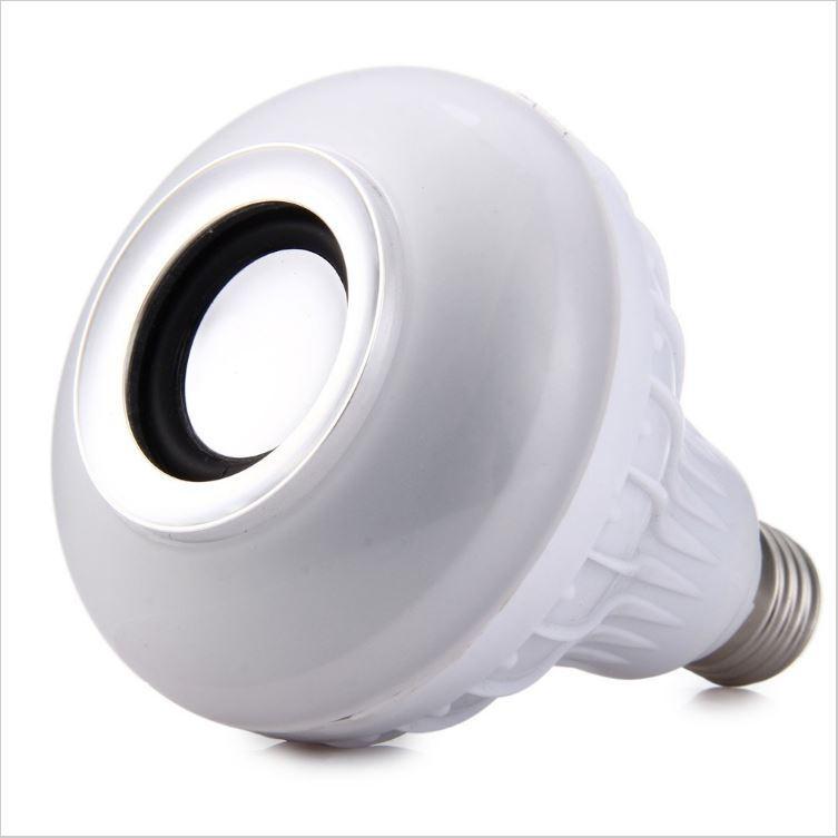 Ampoule LED Colorée E27 avec Haut-parleur intégré Sans-fil - Bluetooth